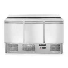 Холодильный стол саладетта HENDI 232811 с откидной крышкой