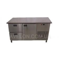Стол холодильный с гранитной столешницей Tehma 14190 1400х700х850
