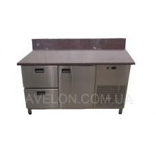 Стол холодильный с гранитной столешницей Tehma 14741 1400х700х850