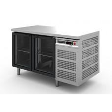 Стол холодильный Modern-Expo NRABGA без борта, две стеклянные двери