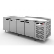 Стол холодильный Modern-Expo NRADAB с бортом, четыре двери