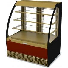 Холодильная витрина открытая VENETO VSo-1,3 кондитерская