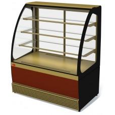 Холодильная витрина VENETO VS-1,3 (стеклопакеты)