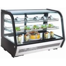 Настольная холодильная витрина EWT INOX RTW-160L
