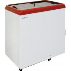 Ларь морозильный ITALFROST CF 200 F с прямым стеклом