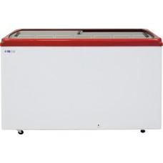 Ларь морозильный ITALFROST CF 600 F с прямым стеклом