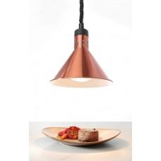Коническая лампа для подогрева блюд с регулируемой высотой медная HENDI 273876
