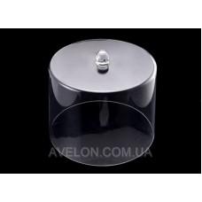 Крышка-колпак для торта акрил 31.5*31.5*24.5 см 9043