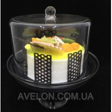 Подставка для торта с крышкой 4112-L