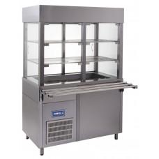 Витрина кондитерская холодильная Кий-В ВК-1200 Классик