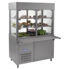 Витрина кондитерская холодильная Кий-В ВК-1500 Классик