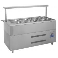 Прилавок холодильный КИЙ-В ПХ-1500 Классик