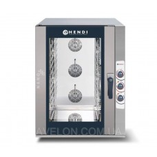 Пароконвектомат NANO 12x GN1/1 электрический, ручное управление HENDI 223246