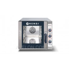 Пароконвектомат NANO 5x GN 2/3 электрический, ручное управление HENDI 223307
