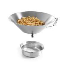 Солонка для картофеля фри Hendi 630808 (нерж)
