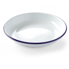 Тарелка глубокая эмалированная Ø 240 мм, HENDI 621271