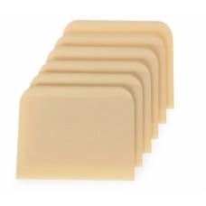 Скребок для теста прямоугольный в комплекте 6 шт. Hendi 554364