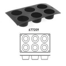 Форма силиконовая Muffins HENDI 677209
