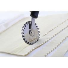 Нож-ролик для теста-зубчатый, Hendi 856154