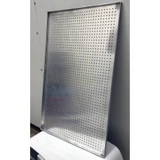 Противень алюминиевый перфорированный по шестиугольнику 40x60 1.2мм
