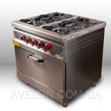 Плита газовая Pimak М015-4