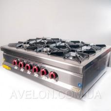 Плита газовая настольная Pimak МО15-6N с газовым контроллером