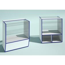 Торговый прилавок  со стеклом ЭКО ст2
