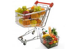 Оборудование для супермаркета, Тележки покупательские