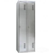 Шкаф одежный из нержавеющей стали ШОМНж-300/2
