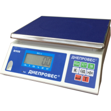 Весы фасовочные, порционные ВТД-6/0,1ФЛ (F998-6) повышенной точности