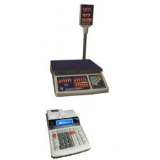 Торговые весы с подключением к кассовому аппарату  ВТД-15РС