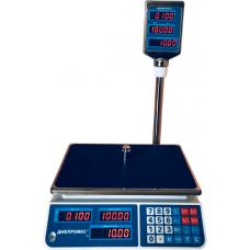 Весы торговые электронные ВТД-ЕЛ Днепровес до 15 кг.