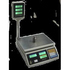 Весы торговые электронные F902H-30EC Днепровес до 30 кг.