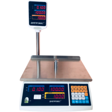 Весы торговые электронные ВТД-ЕД-ПРО Днепровес до 30 кг