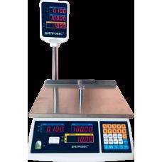Весы торговые электронные ВТД-ЕД-ПРО Днепровес до 15 кг.