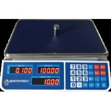 Весы торговые ВТД-ЕЛ1 Днепровес до 15 кг.