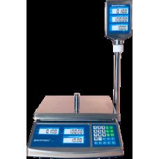 Весы торговые электронные  ВТД-СЛС Днепровес до 15 кг.