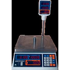 Весы торговые ВТД-Т2-СВ до 30 кг Днепровес