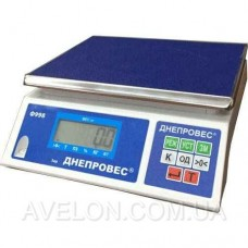 Весы фасовочные ВТД-ФЛ до 3 кг