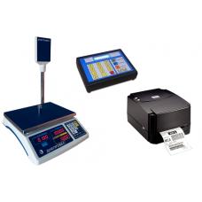 Весы с печатью этикеток ВТД-РС (фасовочный комплект Fasprint)