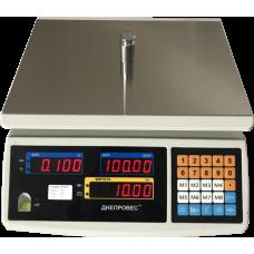 Весы торговые электронные ВТД-ЕЛІ Днепровес до 15 кг.