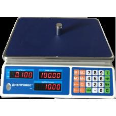 Весы торговые ВТД-Л2 до 30 кг Днепровес