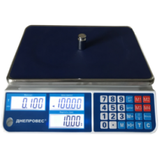 Весы торговые электронные ВТД-СЛ1 Днепровес до 6 кг.