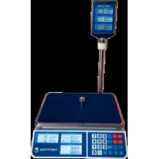 Весы торговые электронные ВТД-СЛ Днепровес до 15 кг.