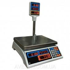 Весы торговые электронные ВТД 30Т2-СВ со стойкой