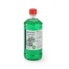 Горючая паста Hendi 195109 для подогрева мармитов HORECA - бутылка 1 л.