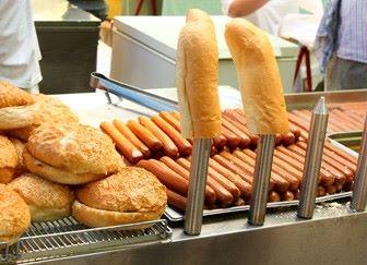Продажа хот-догов
