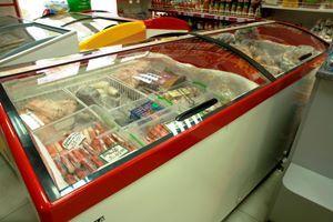 Морозильные лари со стеклянной крышкой