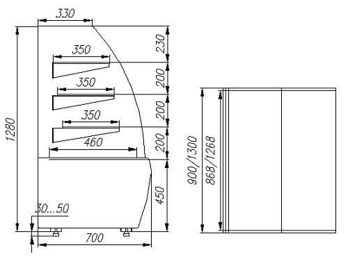 ВХСв-0,9 д Carboma Люкс Техно (стеклопакет)