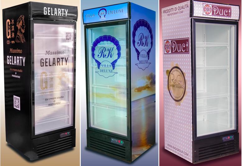 Купить МОРОЗИЛЬНЫЙ ШКАФ ND75G JUKA - для торговли, для продажи мороженного и другой заморозки.